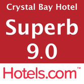 Hotels.com Rating 9.0 Superb